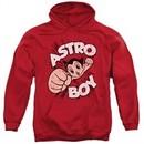 Astro Boy Hoodie Flying Red Sweatshirt Hoody