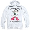 Astro Boy Hoodie Who Needs Pants White Sweatshirt Hoody