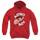 Astro Boy Kids Hoodie Flying Red Youth Hoody