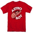 Astro Boy Shirt Flying Red Tee T-Shirt