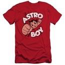 Astro Boy Slim Fit Shirt Flying Red T-Shirt