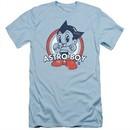 Astro Boy Slim Fit Shirt Target Light Blue T-Shirt