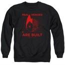 Astro Boy Sweatshirt Real Hero Adult Black Sweat Shirt