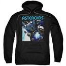 Atari Hoodie 2600 Asteroids Black Sweatshirt Hoody