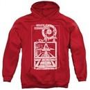 Atari Hoodie Lift Off Red Sweatshirt Hoody