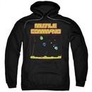 Atari Hoodie Missile Screen Black Sweatshirt Hoody