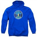 Atari Hoodie Star Raiders Badge Royal Blue Sweatshirt Hoody