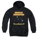 Atari Kids Hoodie Missile Screen Black Youth Hoody