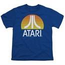 Atari Kids Shirt Logo Royal T-Shirt