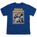 Atari Kids Shirt Missile Commander Royal Blue T-Shirt