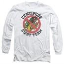Atari Long Sleeve Shirt Centipede Swat Team White Tee T-Shirt