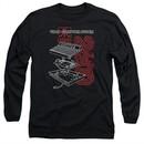 Atari Long Sleeve Shirt Video Computer System 2600 Black Tee T-Shirt