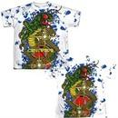 Atari Shirt Centipede Insect Attack Sublimation Youth T-Shirt Front/Back Print