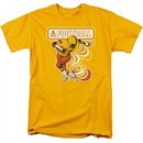 Atari Shirt Football Player Gold T-Shirt