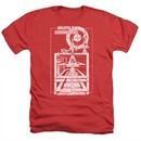 Atari Shirt Lift Off Heather Red T-Shirt