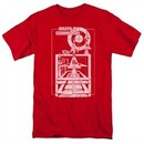 Atari Shirt Lift Off Red T-Shirt