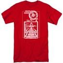 Atari Shirt Lift Off Red Tall T-Shirt