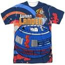 Atari Shirt Lunar Landing Sublimation T-Shirt