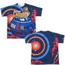 Atari Shirt Lunar Landing Sublimation Youth T-Shirt Front/Back Print