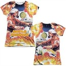 Atari Shirt Missile Command Sublimation Juniors T-Shirt Front/Back Print