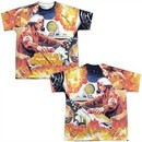 Atari Shirt Missile Command Sublimation Youth T-Shirt Front/Back Print