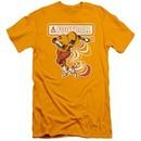 Atari Slim Fit Shirt Football Player Gold T-Shirt
