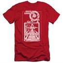 Atari Slim Fit Shirt Lift Off Red T-Shirt