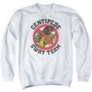 Atari Sweatshirt Centipede Swat Team Adult White Sweat Shirt