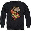Atari Sweatshirt Crystal Bear Adult Black Sweat Shirt