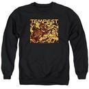 Atari Sweatshirt Tempest Demon Reach Adult Black Sweat Shirt