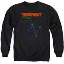 Atari Sweatshirt Tempest Screen Adult Black Sweat Shirt