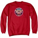 Atari Sweatshirt Yars Revenge Patch Adult Red Sweat Shirt