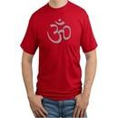 AUM Yoga Mens Tall T-shirt