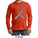 Autism Awareness Ribbon Kids Long Sleeve Shirt