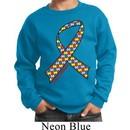 Autism Awareness Ribbon Kids Sweatshirt