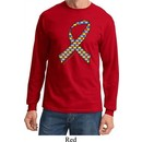 Autism Awareness Ribbon Long Sleeve Shirt