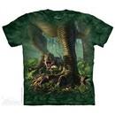 Baby T-Rex Shirt Tie Dye Adult T-Shirt Tee