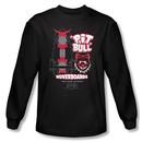 Back To The Future II Long Sleeve T-shirt Pit Bull Black Tee Shirt
