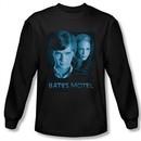 Bates Motel Shirt Apple Tree Long Sleeve Black Tee T-Shirt