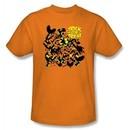 Batman Kids T-Shirt Trick Or Treat Youth Orange Tee Shirt