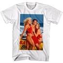 Baywatch Shirt Getting Girls White T-Shirt