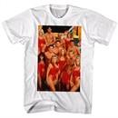 Baywatch Shirt Group Photo White T-Shirt