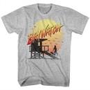 Baywatch Shirt Lifeguard Station Athletic Heather T-Shirt