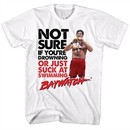 Baywatch Shirt Sucks At Swimming White T-Shirt