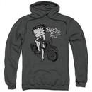 Betty Boop Hoodie BBMC Charcoal Sweatshirt Hoody