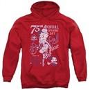 Betty Boop Hoodie Boop Ball Red Sweatshirt Hoody