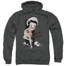 Betty Boop Hoodie Out Of Control Charcoal Sweatshirt Hoody
