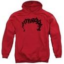 Betty Boop Hoodie Word Hair Red Sweatshirt Hoody