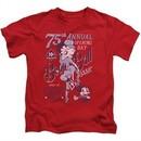 Betty Boop Kids Shirt Boop Ball Red T-Shirt