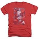 Betty Boop Shirt Boop Ball Heather Red T-Shirt